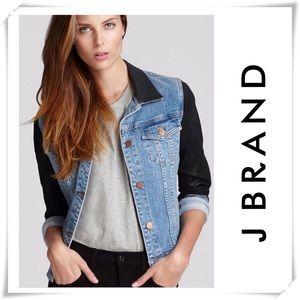 J Brand Bowie Two-Tone Denim Jacket